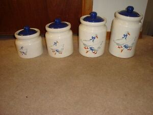 Canister Set - Country Geese