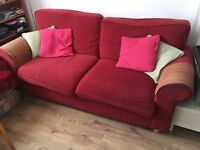 Matching large comfy sofa & chair, free to good home!