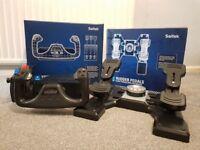 Saitek Pro Flight Yoke and Rudder Pedals