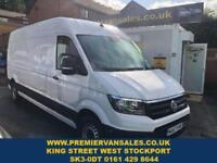 2017 67 VOLKSWAGEN CRAFTER LATEST NEW SHAPE MODEL LONG WHEEL BASE 2.0 TDI SIX SP