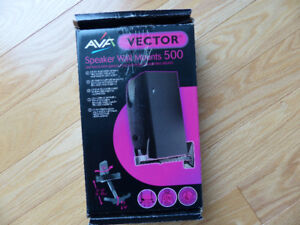 Audio stereo speaker stand wall mount new in box