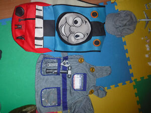 Thomas and engineer costumes
