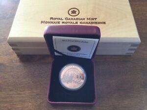 1$ en argent épreuve. Expédition Arctique  West Island Greater Montréal image 1