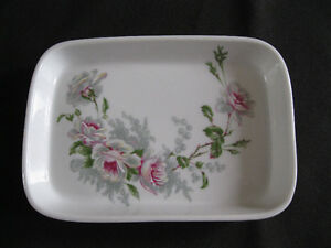 Limoges Porcelain dish with flower design