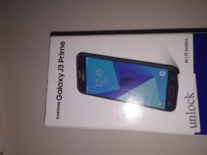 BRAND NEW SAMSUNG GALAXY J3 PRIME UNLOCKED