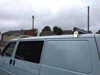 VW transporter t4 roof bars