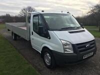 Ford Transit T350 3.5T XLWB *Extra Long* Extended Chassis New 20ft Dropside Body