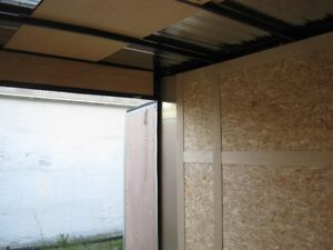 "6 x 10 + 18"" VNOSE ENCLOSED TRAILER / REAR DOORS Oakville / Halton Region Toronto (GTA) image 4"