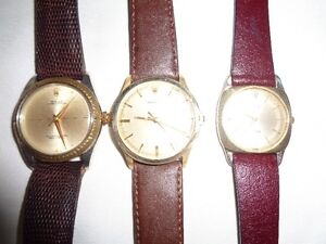 LOT OF 3 PIECES AUTHENTIC SWISS ROLEX MENS WATCHES FOR SALE