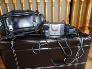 camcorder with case