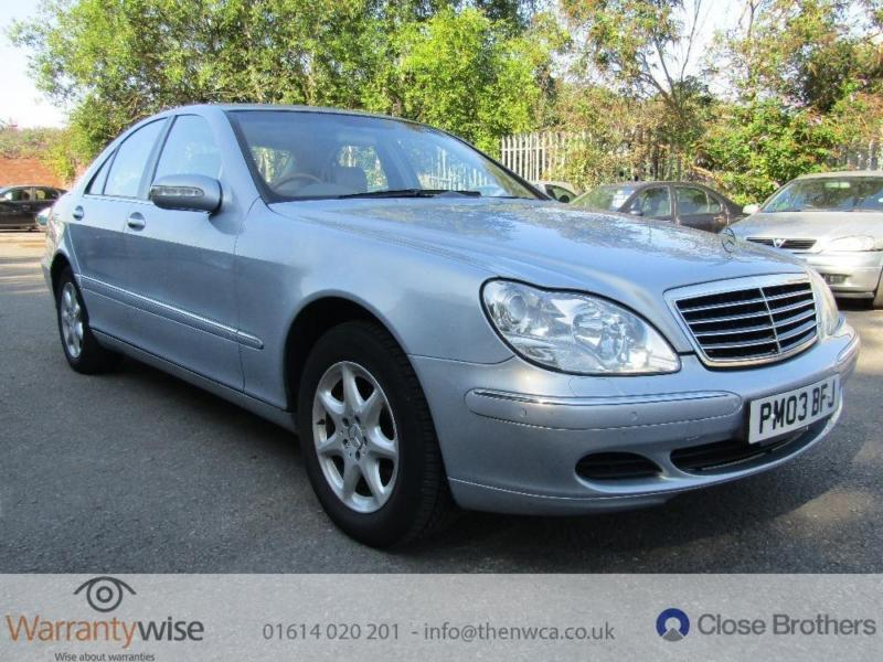 MERCEDES S CLASS S320 CDI, Blue, Auto, Diesel, 2003 Lot of car for your money