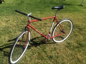 Vintage Fixie Bicycle