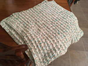 Homemade Infant/Child crochet blanket