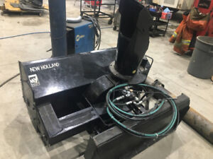 """60"""" Hydraulic driven snow blower for skid steer or tractor"""