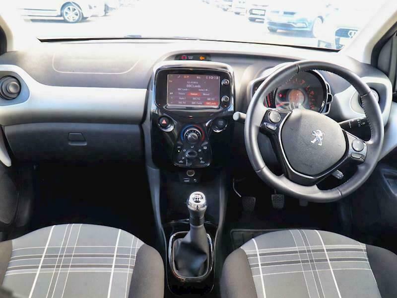 2017 Peugeot 108 1.2 PureTech Allure 5dr Hatchback Petrol Manual