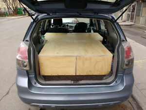 Convert Your 2003-2008 Toyota Matrix into a Camper/Sleeper!