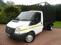 2013 Ford Transit T350 2.2TDCi LWB SINGLE CAB CAGGED TIPPER