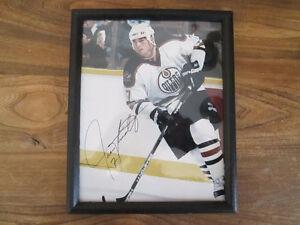 NHL Oilers Jason Arnott  ( White Jersey )