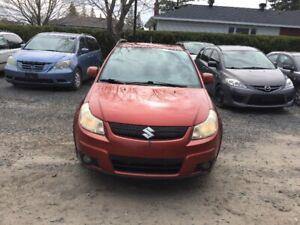 2009 Suzuki SX4 Hatchback All Wheel Drive comes with safety