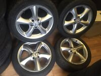 """17"""" C class Mercedes alloy wheels 5/112 vw Audi seat skoda"""
