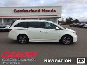 2016 Honda Odyssey Touring  - DVD Player -  Navigation
