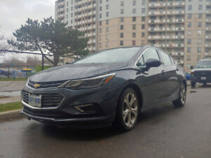 2017 Chevrolet cruze PREMIER. GREAT DEAL AND AMAZING CONDITIONS.