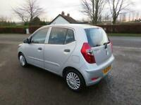 2011 HYUNDAI I10 1.2 CLASSIC 5DR MOT MAY 2021 £20 ROAD TAX GREAT FIRST CAR POLO