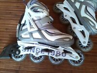 "LADY size 7 w, In Line Street ""ROLLERBLADE"" & Accessories"