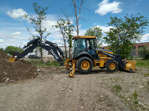 Backhoe / Excavator and Operator for Hire