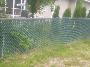 Fence Slats, 8', Green