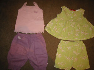 Girls 12 Months Sleepers, Pant sets and Dresses