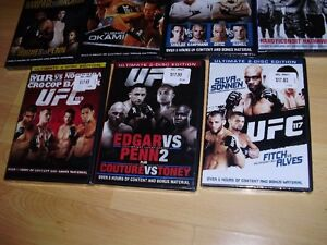 """15 UFC dvds ***BRAND NEW*** trade for 17"""" Rims and Tires London Ontario image 4"""