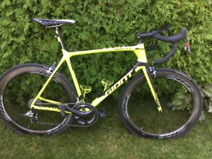 Giant tcr advanced sl large 2016 comme neuf