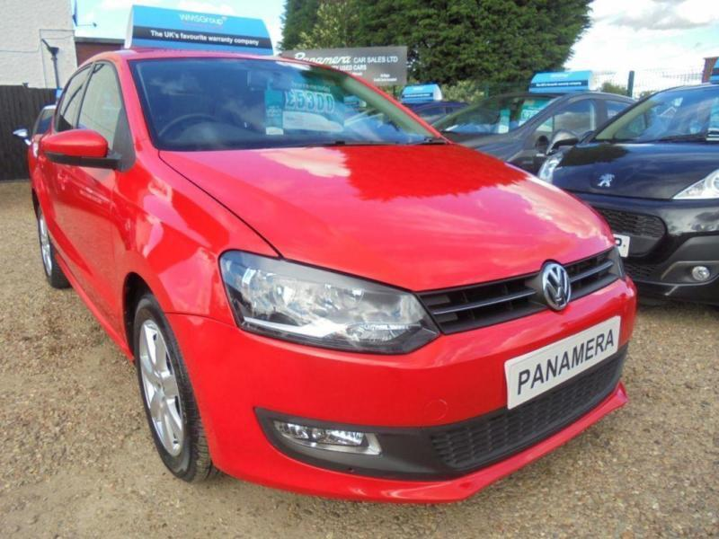 2011 61 VOLKSWAGEN POLO 1.2 MATCH 5DR 60 BHP AA REPORT FINANCE WITH NO DEPOSIT A