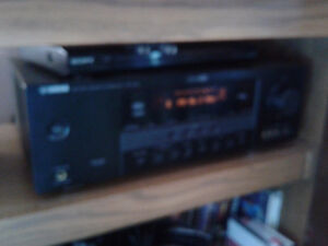 Yamaha receiver and amp tuneraodio video player
