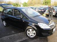2008 VAUXHALL ZAFIRA EXCLUSIV 7 SEATER MPV (MULTI-PURPOSE VEHICLE) PETROL