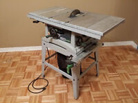 "Scie sur Table 10"" / 10"" table saw"