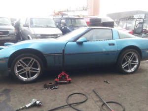 Original Z06 mags with tires