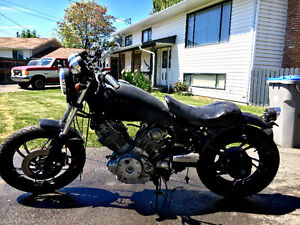 1982 Yamaha Virago - Fishish building it or use for parts