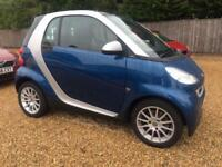 Smart fortwo 0.8cdi DIESEL ( 45bhp ) Passion BLUE NO TAX ONE OWNER