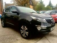 KIA SPORTAGE CRDI KX-3 Black Manual Diesel, 2013