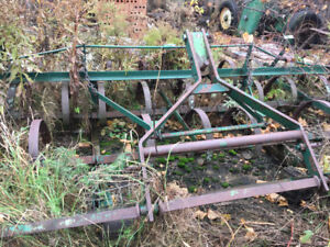 Herse pour tracteur