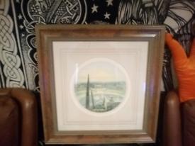 V large framed print 2 ft 3 inches