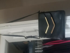 Black crossbody never used with tags