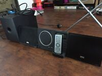 TEAC CX 200iDAB HiFi Microsystem with Subwoofer and Built In Dock
