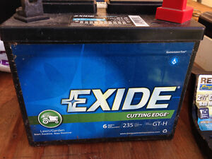 12V LAWN TRACTOR BATTERY NEW $30.00