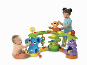 Fisher Price Rainforest Cruise and Crawl play gym