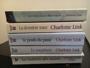 Livres Charlotte Link