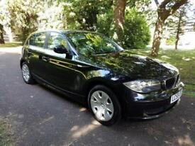 2009 59 BMW 116 5 Door Black A/C LONG MOT S/HISTORY £3695