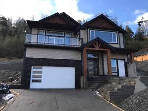 Main floor 3bd+2ba oceanview new house for rent- North Nanaimo